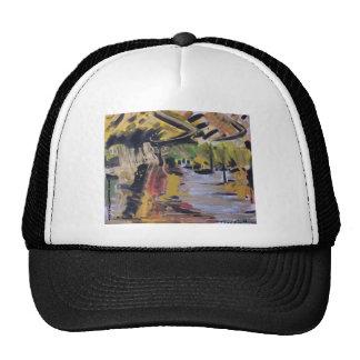 Mountain landscape hat