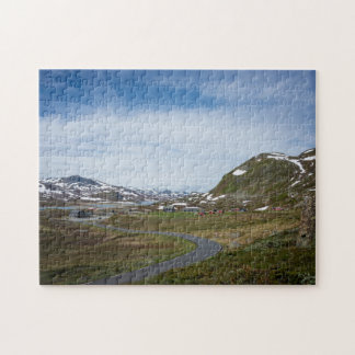 Mountain landscape in Norway jigsaw puzzle