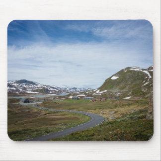 Mountain landscape in Norway mousepad