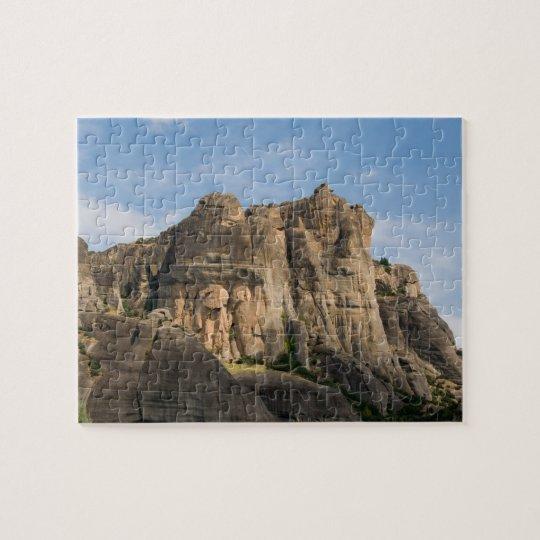 Mountain Landscape Meteora Greece Puzzle