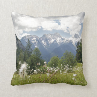 Mountain Landscape Pillow Austria Photo Print