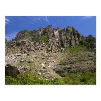 mountain landscape postcard