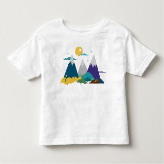 Mountain Landscape Toddler T-shirt