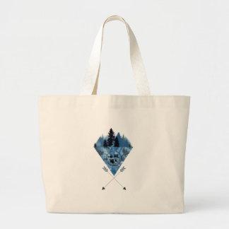 Mountain Large Tote Bag
