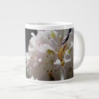 Mountain Laurel by a Creek Large Coffee Mug