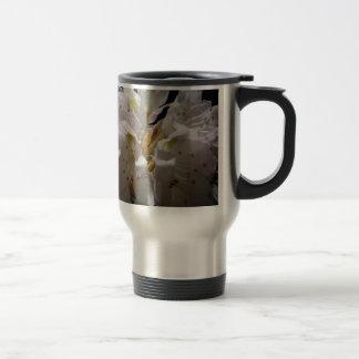 Mountain Laurel by a Creek Travel Mug