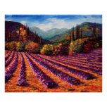Mountain Lavender Home Poster