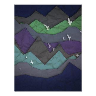 Mountain Layers II Letterhead