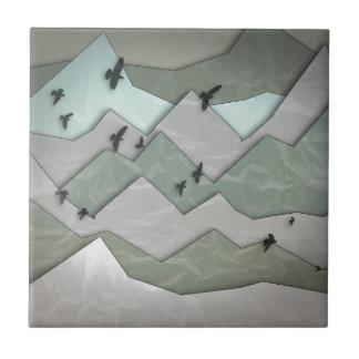 Mountain Layers II Tile