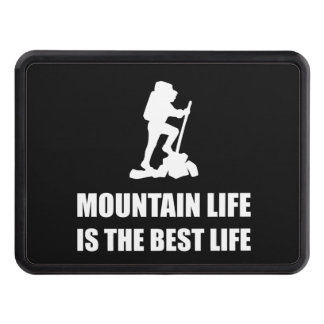 Mountain Life Best Life Tow Hitch Cover