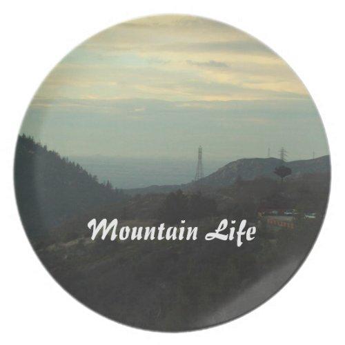 Mountain Life Plate fuji_plate