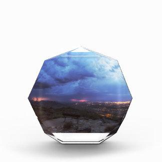 Mountain Light Acrylic Award