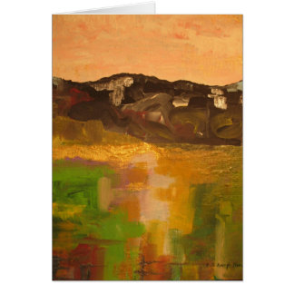 Mountain Light Greeting Cards