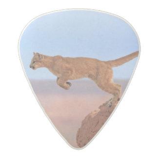 Mountain Lion Acetal Guitar Pick