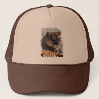 Mountain Lion, Big Cat Cougar Customize Product Trucker Hat