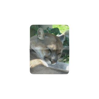 Mountain Lion Business Card Holder