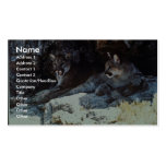 Mountain Lion Business Card Templates