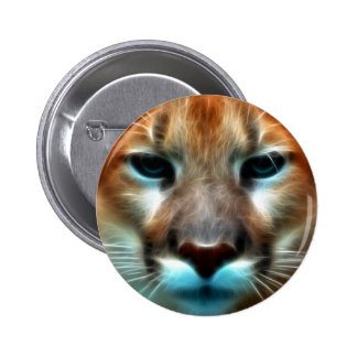 Mountain Lion Pinback Buttons