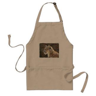 Mountain Lion Cougar Apron