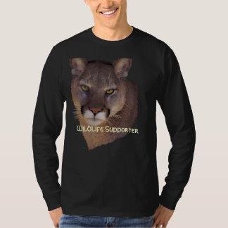 MOUNTAIN LION Cougar, Big Cat Wildlife Shirt