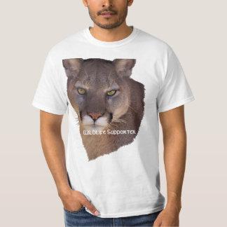 MOUNTAIN LION Cougar, Big Cat Wildlife T-Shirt