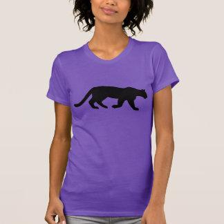Mountain Lion Cougar Silhouette Tee Shirt