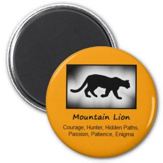 Mountain Lion Cougar Totem Animal Spirit Meaning Magnet