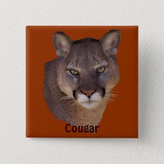 Mountain Lion Cougar Wildlife-lovers Button