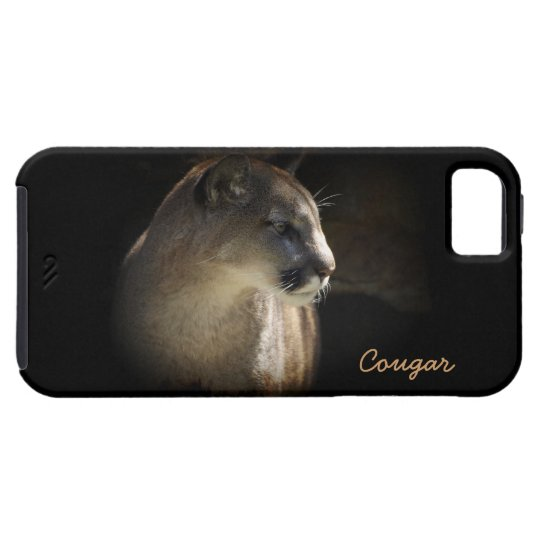 Mountain Lion Cougar Wildlife-lovers iPhone Case