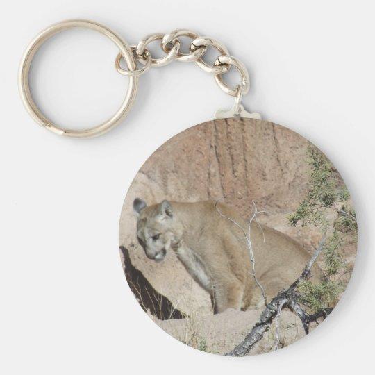 Mountain Lion Keychain