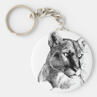 Mountain Lion Keychain