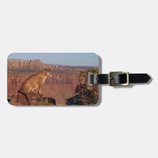 Mountain Lion Bag Tag
