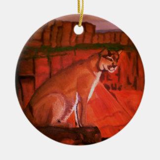 MOUNTAIN LION ornament