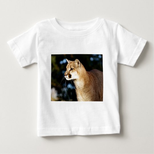 Mountain Lion Profile Baby T-Shirt