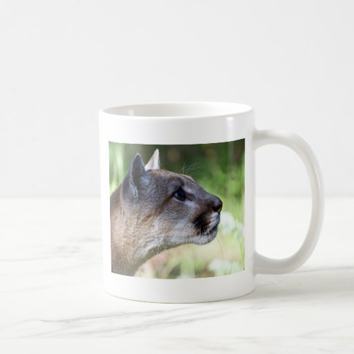 Mountain Lion Profile Mug