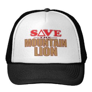 Mountain Lion Save Trucker Hat