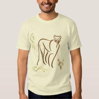 Mountain Lion Sketch T Shirt