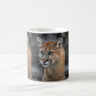 Mountain Lion Snow Fall Mug