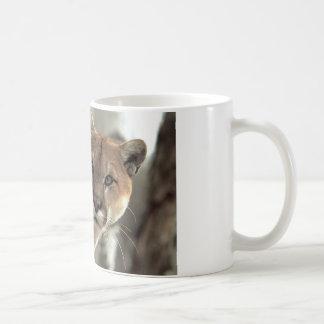 Mountain Lion Striking a Pose Coffee Mug