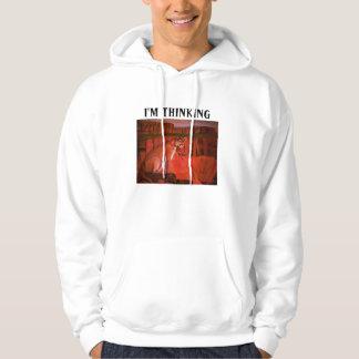 MOUNTAIN LION THINKING hoodie
