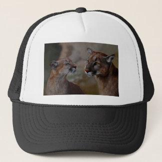 Mountain lions in love trucker hat