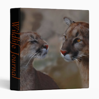 Mountain lions reverence 3 ring binder