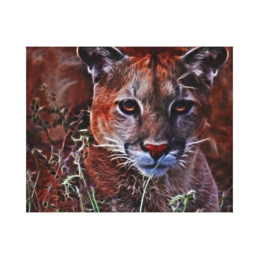 Mountain lions trust gallery wrap canvas