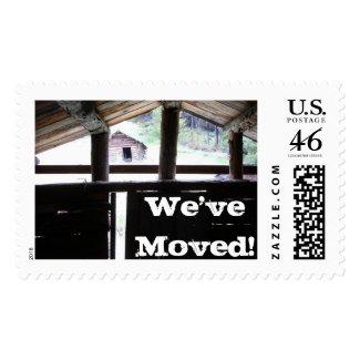 Mountain Living • Montana Postage Stamp