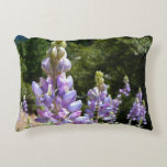 Mountain Lupins at Yosemite Accent Pillow