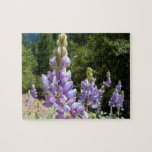 Mountain Lupins at Yosemite Jigsaw Puzzle