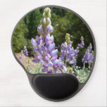 Mountain Lupins Gel Mouse Pad