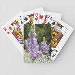 Mountain Lupins Playing Cards