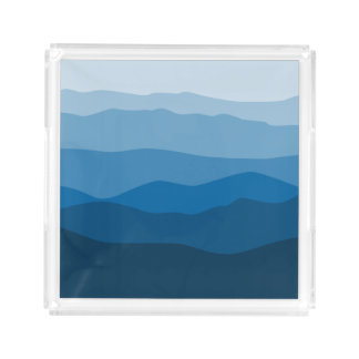 Mountain Mama Acrylic Tray - Rectangle and Square!