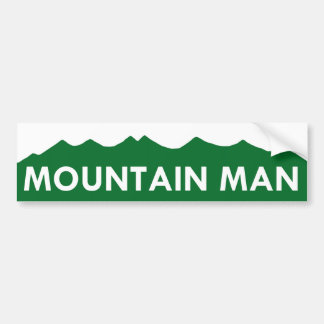 MOUNTAIN MAN - Colorado Bumper Sticker